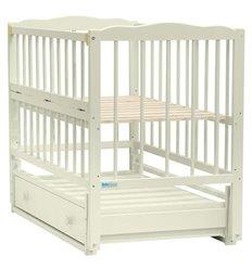 Дитяче ліжко Baby Sleep Aurora AKP-S-B Горіх