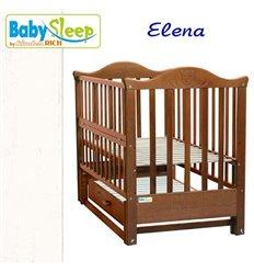 Дитяче ліжко Baby Sleep Aurora AKP-S-0 Горіх