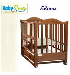 Дитяче ліжко Baby Sleep Aurora AKP-S-0 Горіх темний