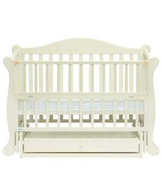 Дитяче ліжко Baby Sleep Grazia Lux BKP-S-B Махагон