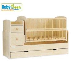 Дитяче ліжко Baby Sleep Grazia Lux BKP-S-B Білий