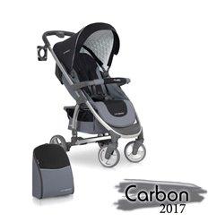 Дитяча прогулянкова коляска EasyGo Cross Line Carbon