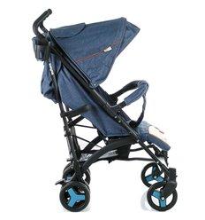 Дитяча коляска 2 в 1 Bair Leo G-18 Темно синя