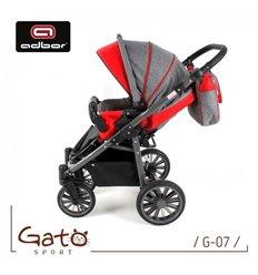 Дитяча прогулянкова коляска Caretero Spacer чорна