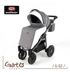 Дитяча прогулянкова коляска Caretero Sonata 2017 чорна
