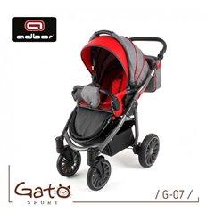 Дитяча прогулянкова коляска Caretero Sonata 2017 графіт