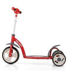 Біговел Milly Mally Dragon Deluxe з надувними колесами червоний