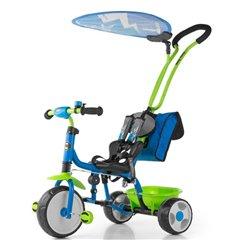 Велосипед триколісний Milly Mally Boby Deluxe 2015 зелений