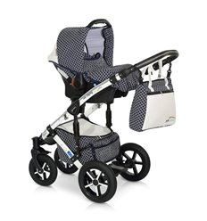 Дитяча коляска 3 в 1 Verdi Pepe Eco Plus 59