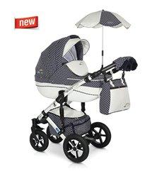 Дитяча коляска 3 в 1 Verdi Pepe Eco Plus Carbon 92