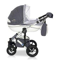 Дитяча коляска 3 в 1 Verdi Pepe Eco Plus Carbon 93
