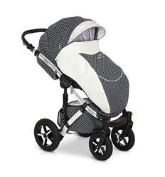 Дитяча коляска 3 в 1 Verdi Pepe Eco Plus Carbon 94