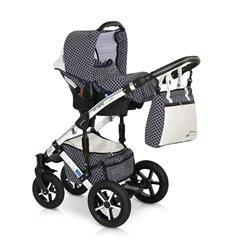 Дитяча прогулянкова коляска 4Baby Croxx Black